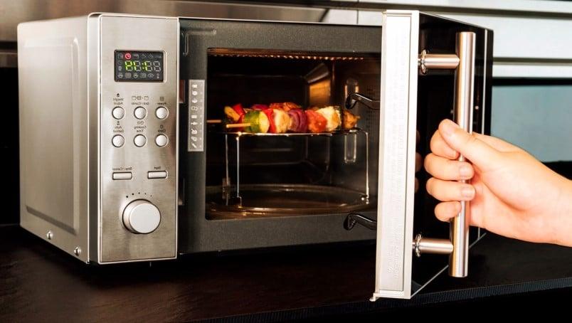 Recetas de pollo al microondas grill